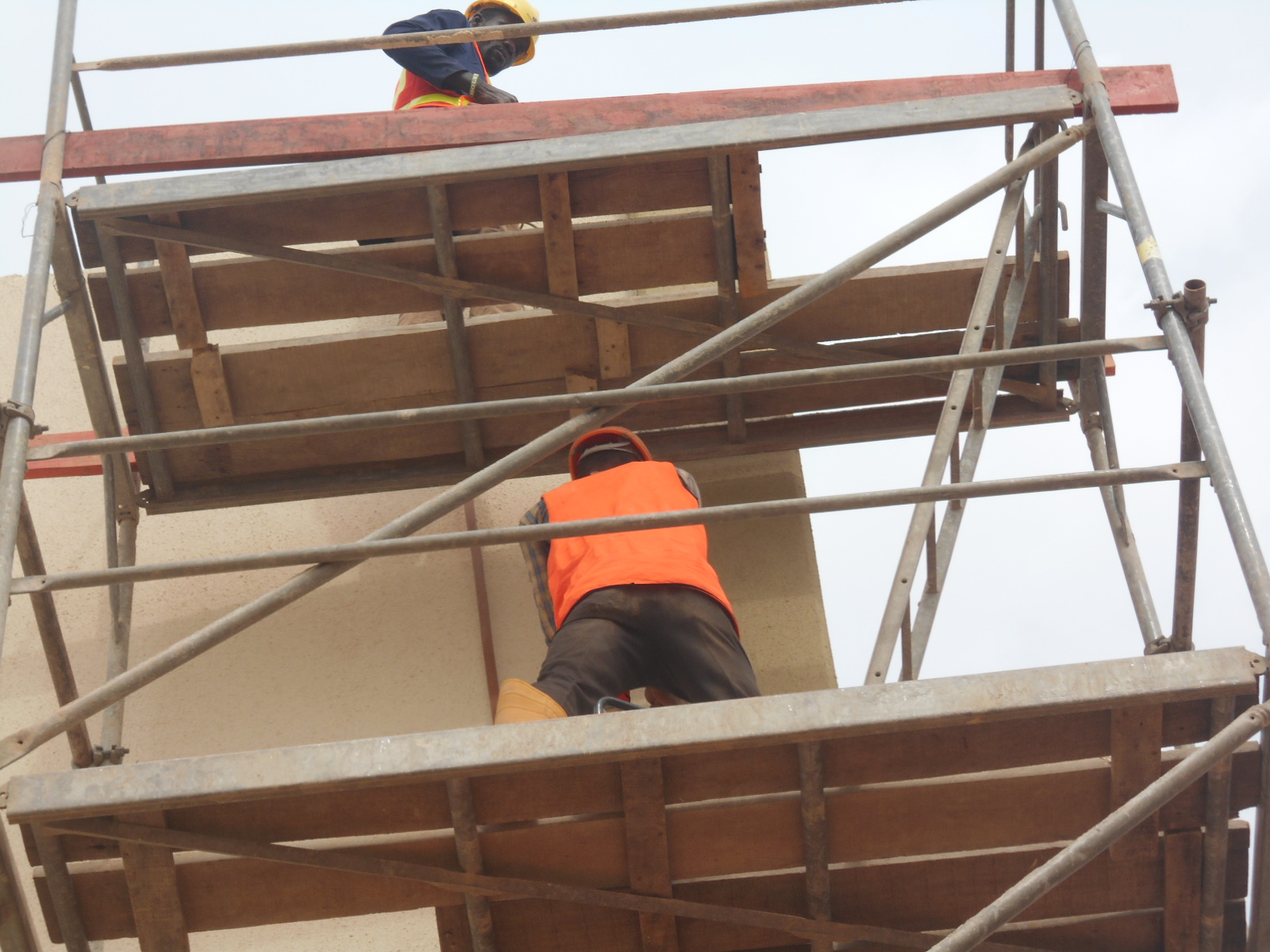 RUNING OF COPPER TAPE AT JABI SHOPPING MALL, ABUJA
